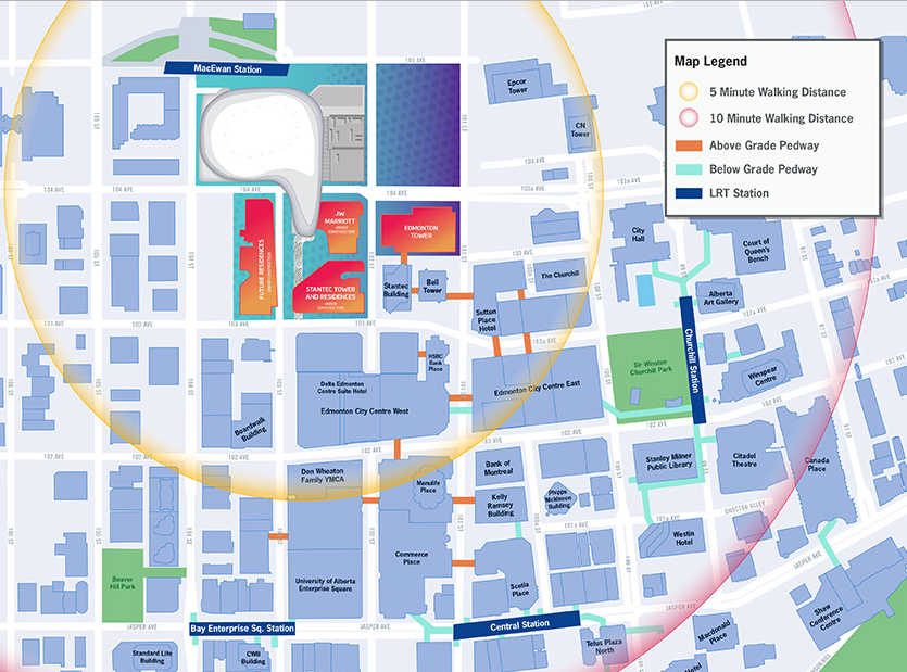 (Click map above for larger version, via Rogers Place)