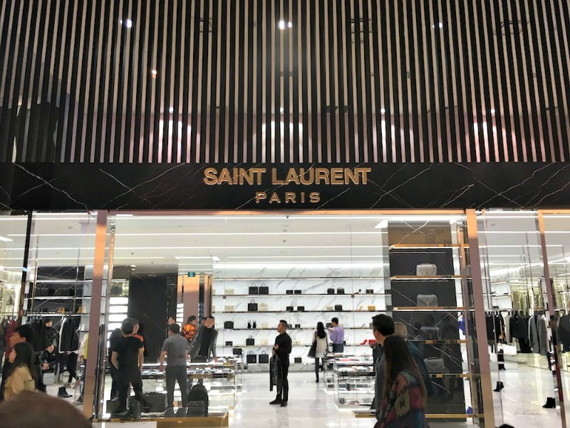 de403b14217f Saint Laurent Opens Toronto Store  Photos