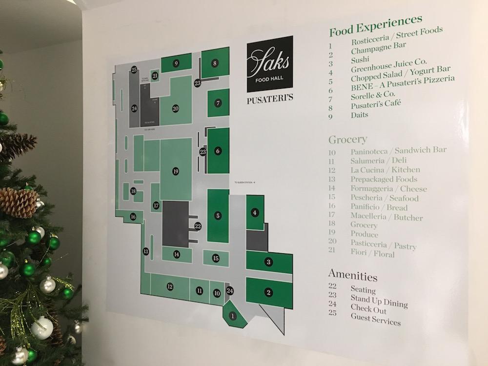 (Store floor plan)