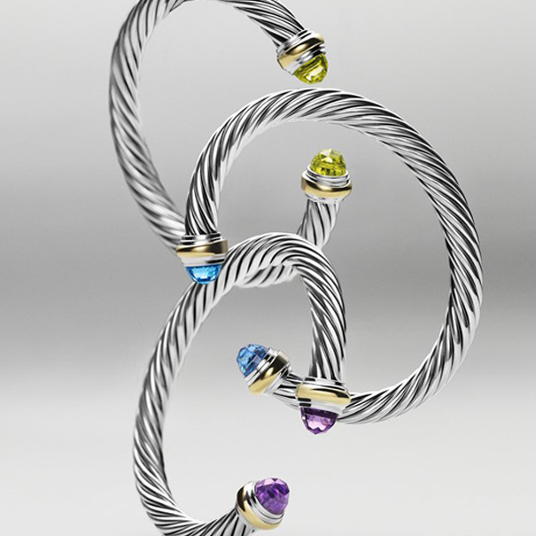 (Classic David Yurman bracelets. Photo: David Yurman)