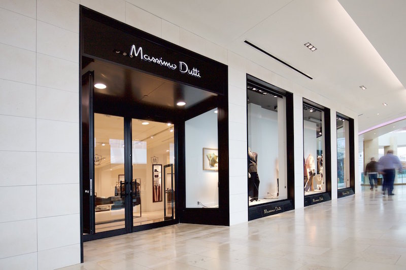 (Massimo Dutti opened at Square One last week)
