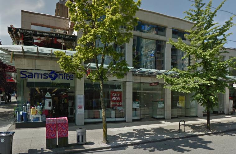 1210 Robson Street (at Bute Street)