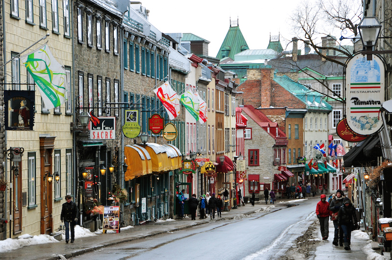 Old Quebec City. Photo: Pinterest
