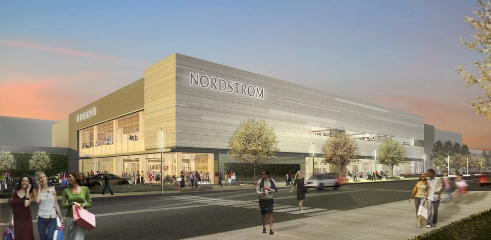 (Nordstrom CF Sherway. Image supplied)