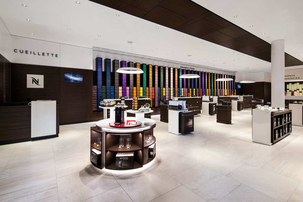 (Ste-Foy boutique, photo: Nespresso/Oakmont)