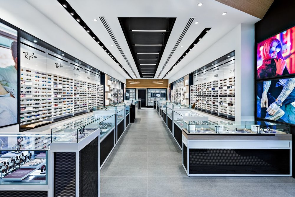 (Yorkdale Spareparts store. Design:  Cutler . Interior Millwork:  Peregrine )