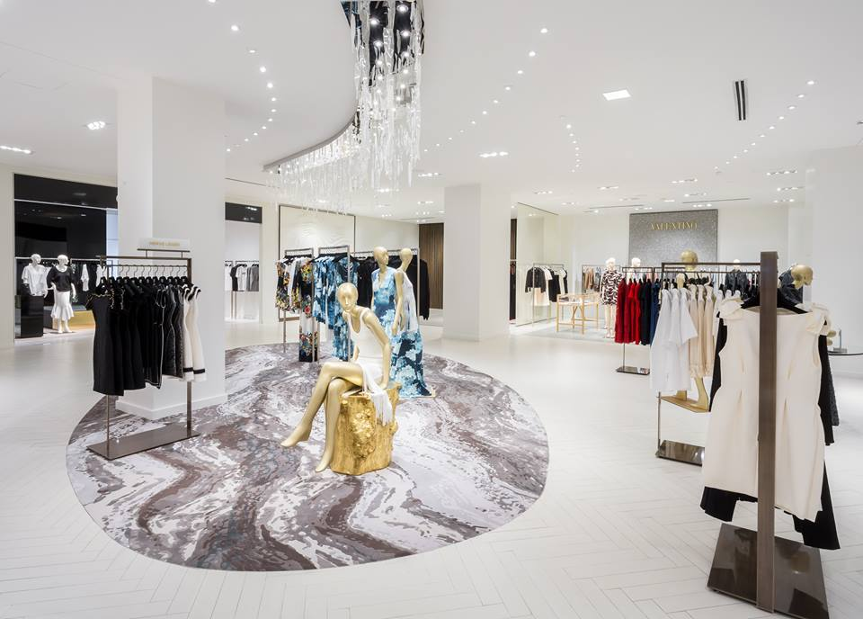 (women's designer floor at Saks cf toronto eaton centre. photo supplied)