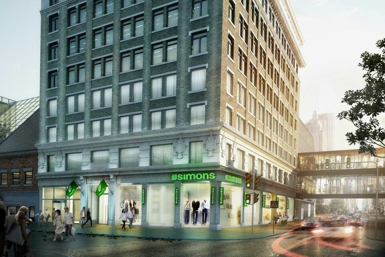 Simons Reveals Calgary Opening Date, Details and Store Renderings