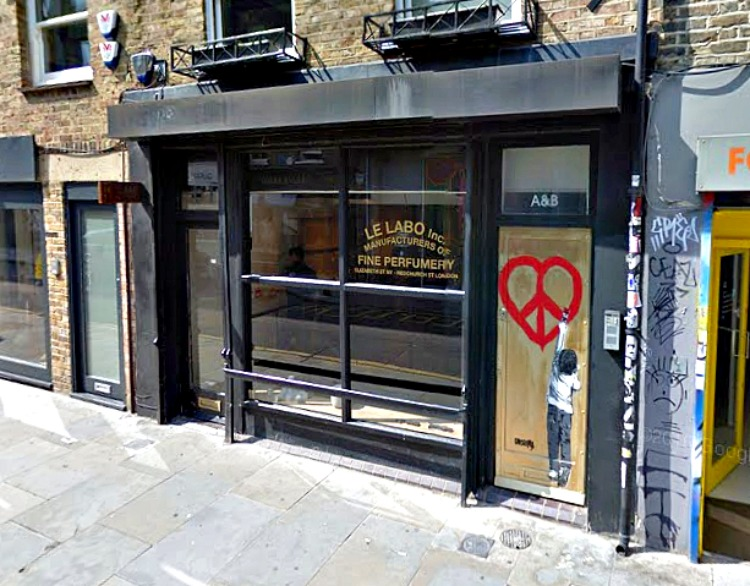 (London store. Photo: Google street view screen capture)