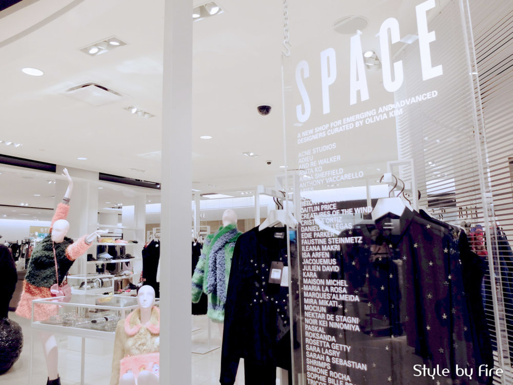 SPACE AT NORDSTROM, VANCOUVER. PHOTO: AURORA CHAN OF STYLE BY FIRE.