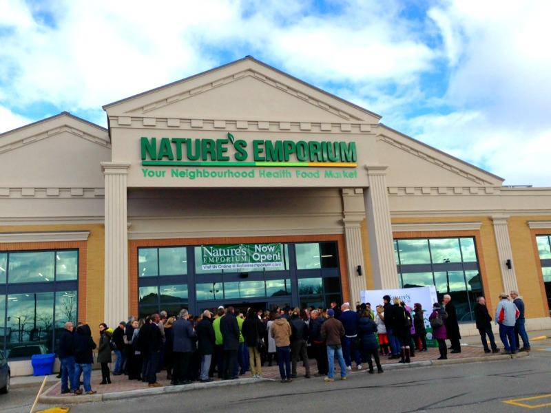 (Lineup outside the new burlington store)