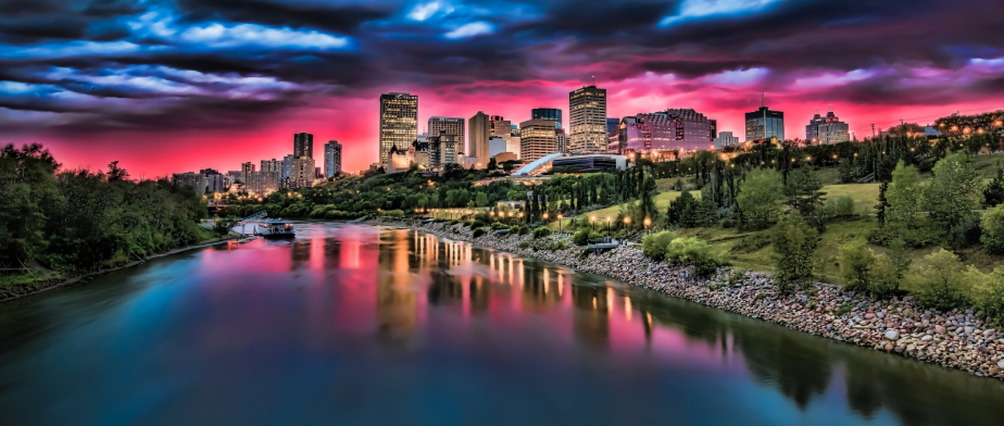 (edmonton skyline. photo: In My Back Pocket – Photography)