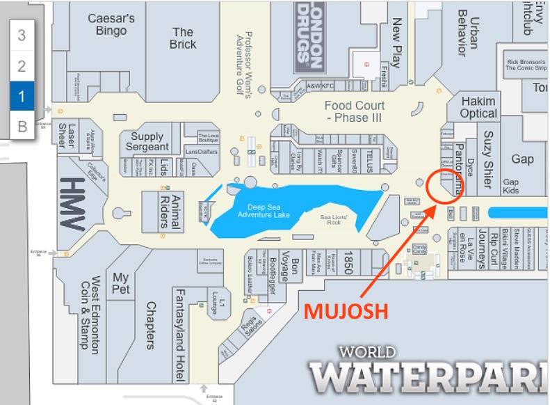 (CLICK IMAGE FOR INTERACTIVE WEST EDMONTON MALL MAP)
