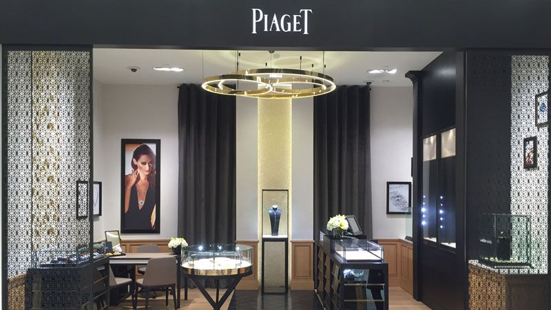 (Piaget boutique on the STORE'S ground floor. PHOTO: PIAGET)