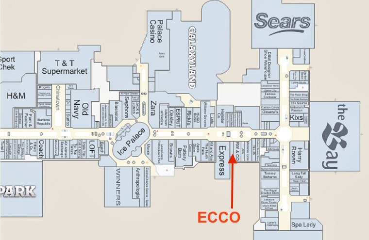 (CLICK IMAGE FOR INTERACTIVE WEST EDMONTON MALL FLOOR PLAN)