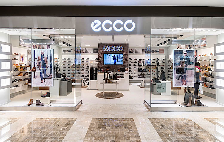 Ecco Shoes Store In Montreal