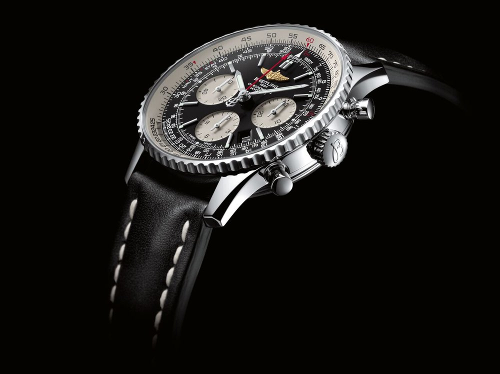 (breitling navitimer 01 watch. photo Courtesy of Breitling SA, www.breitling.com)