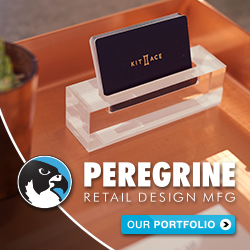 PEREGRINE IS WESTERN CANADA'S LARGEST RETAIL FABRICATOR. VISIT THEM AT:   WWW.PEREGRINE.BUILD