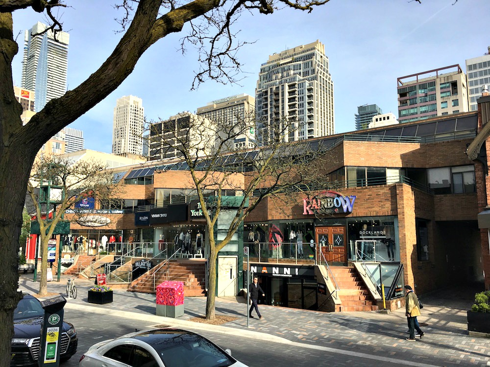 (101 yorkville avenue will be demolished and replaced with a 35,000 square foot building dedicated primarily to luxury retail. over the rainbow jeans has already secured a replacement space at nearby manulife centre)