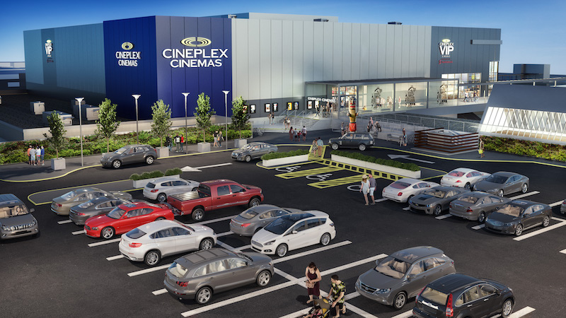 (Rendering of the new park royal cineplex vip cinemas. Image supplied)