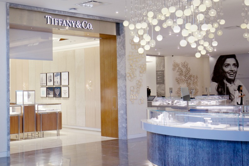 (tiffany & co. concession at holt renfrew)