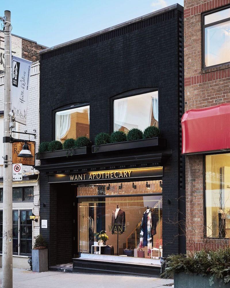 ('Rosedale' store in Toronto)