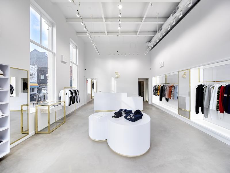 (inside the new NYC ovo flagship. photo: ovo)