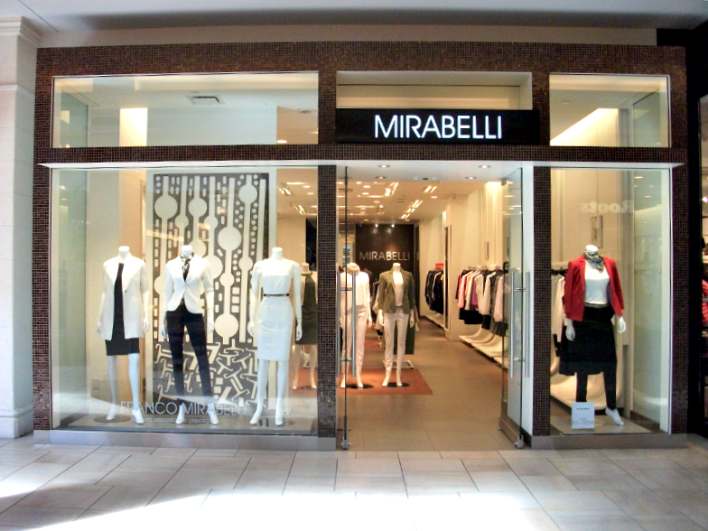 (canadian designer franco mirabelli has only two stores, with one of them being at bayview villeage. Photo: Mirabelli)