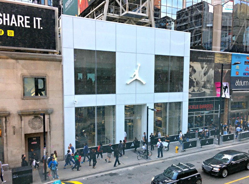 51f61fe1b7e891 ... their pop-up retail store during the NBA All-Star Weekend in Toronto in  February 2016 has helped fuel their permanent store opening in the same  location ...