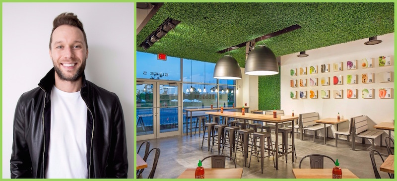 ( Designer :   Chad Webre  .  Project: Freshii, Toronto [Store photo by  Jeffrey J. Dolezal ])