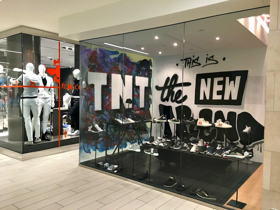 (TNT the new trend has been renovating and expanding its retail spaces at yorkville village next up: 'tnt concept')