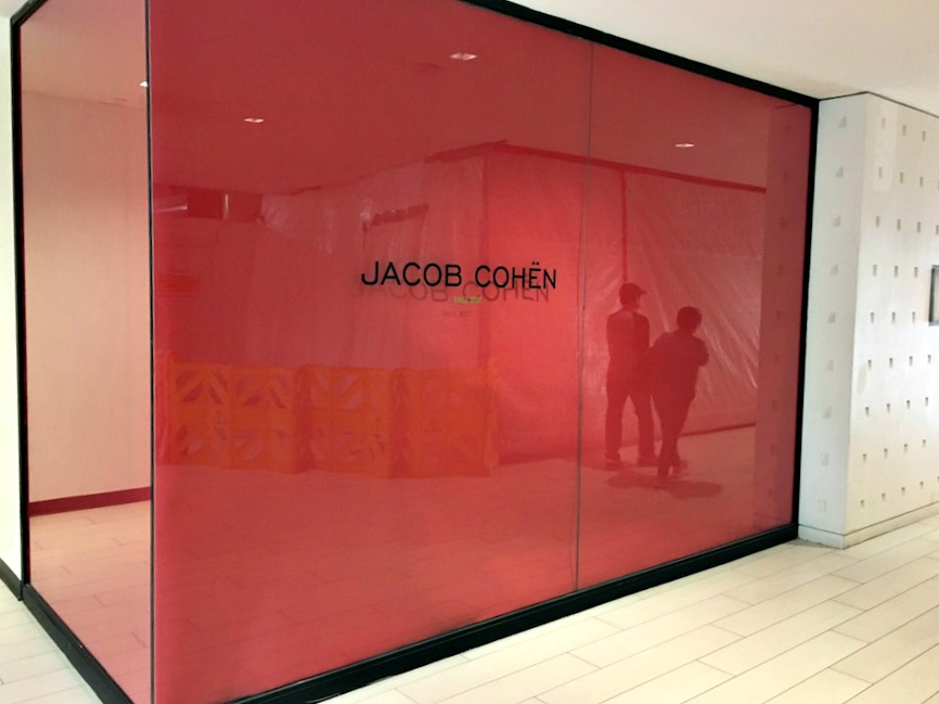 (pricey denim: a jacob cohen shop-in-store will open at luxury menswear retailer via cavour, when it relocates back into its former, albeit renovated space)