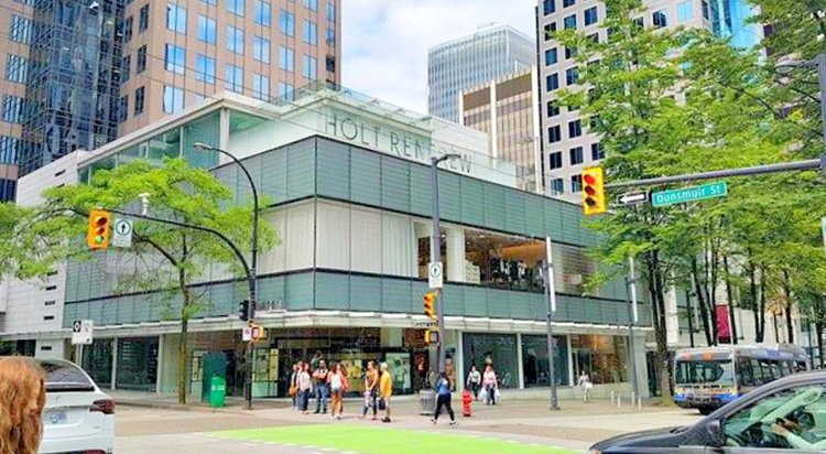 (personal shopping suites are locted at the top of the store in the photo, including a private outdoor patio for 'the apartment'. Photo: ritchie po)