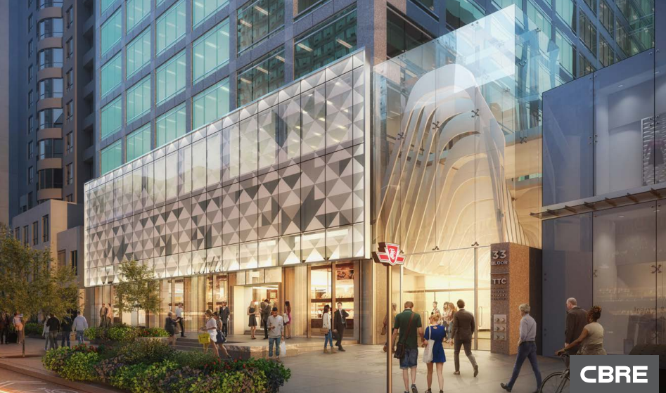 (33 bloor street east to see new facade, and new retail. click image for pdf cbre package)