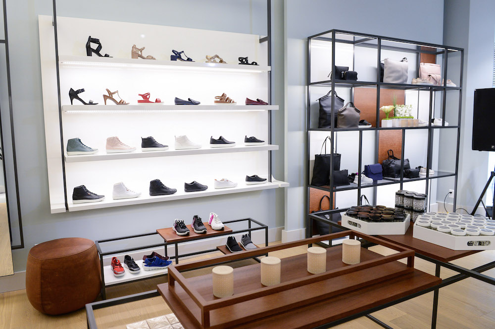 (women's footwear and bags, as well as high-quality danish-inspired furnishings)