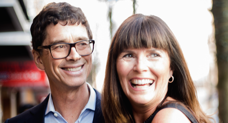 (Jean-Pierre LeBlanc and Kate Ross LeBlanc)
