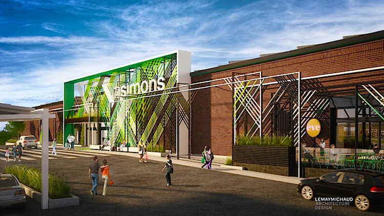 "(Simons' ""store of the future"" will locate in a space formerly occupied by Target)"