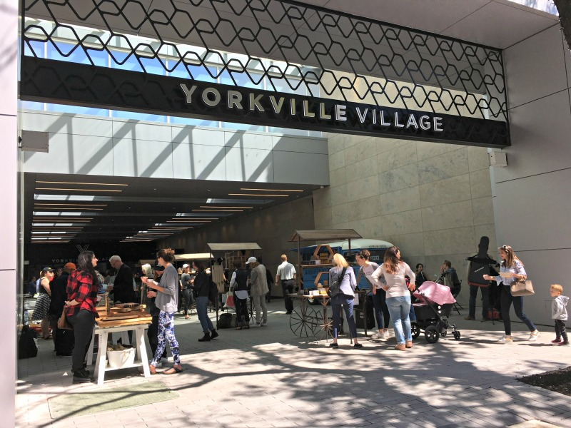 (Summer market, every wednesday this summer at yorkville village in Toronto. Photo: Craig Patterson)