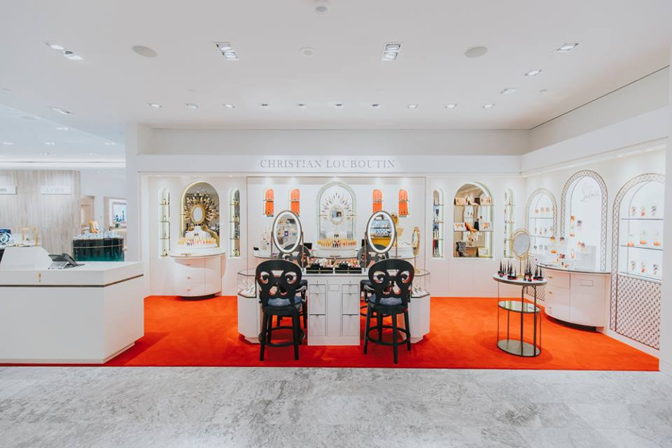 (christian louboutin beauty boutique. Photo supplied by Holt Renfrew)