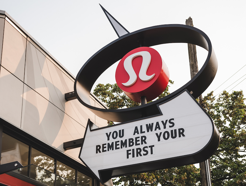 Lululemon Unveils Overhaul to its 1st Store [Photos]
