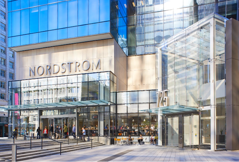 (Nordstrom cf pacific centre in vancouver. Photo: Cadillac Fairview)