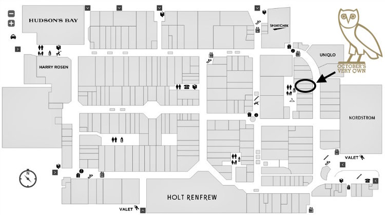 (click for interactive yorkdale mall floor plan)