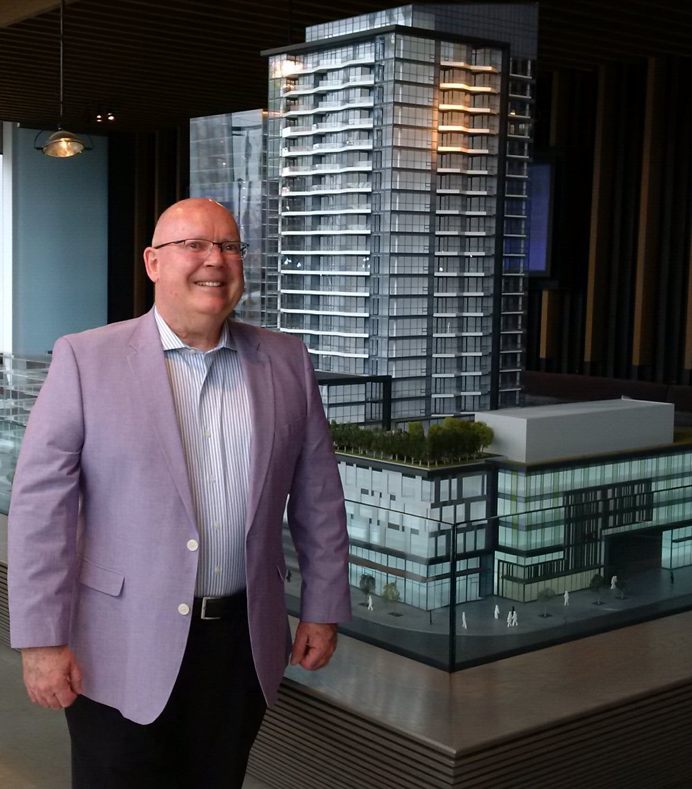 (Michael Kehoe, retail specialist with Fairfield Commercial Real Estate in Calgary)