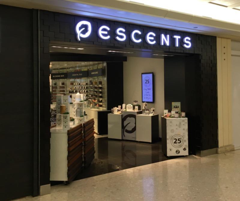 Escents Announces Store Expansion