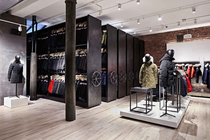 (Inside the soho store. photo: canada Goose)