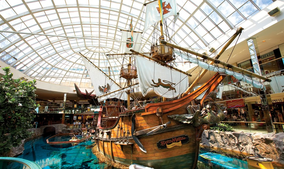 (Photo:  West Edmonton Mall )