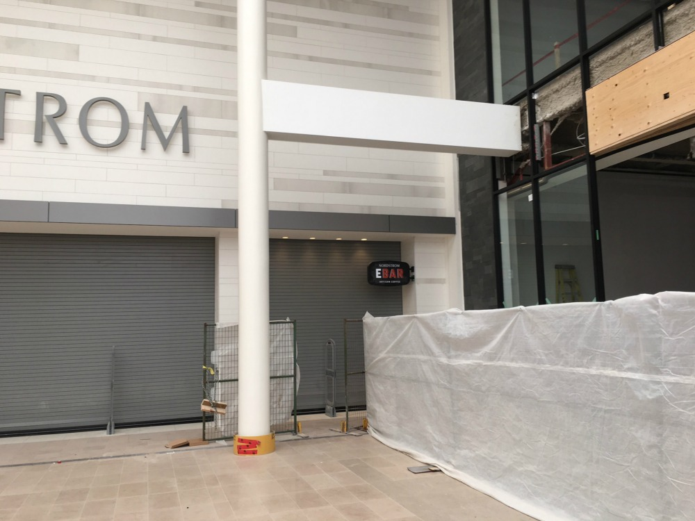 (Nordstrom's coffee concept, ebar, will have its own entrance)