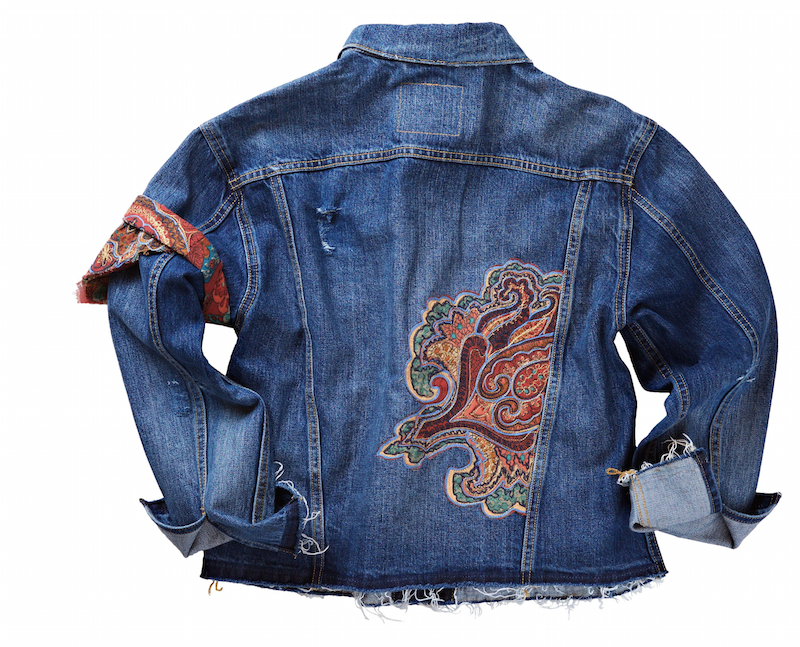 (levi's tailor maria custom designed this jacket. Photo: Levi's)
