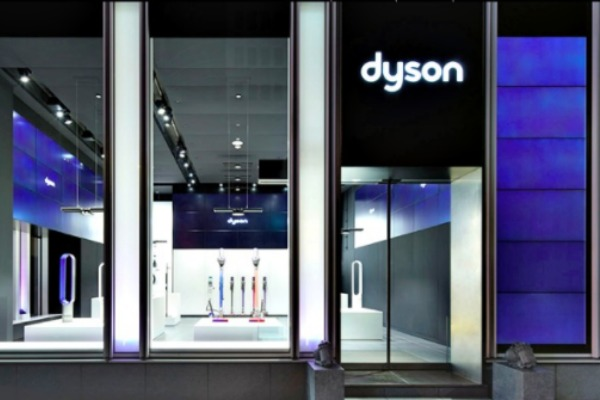 Dyson to Open 1st Standalone Canadian Store