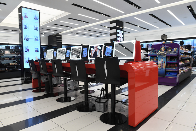 (Photos, above and below, are of the Yorkdale 'tip' location that opened last year)